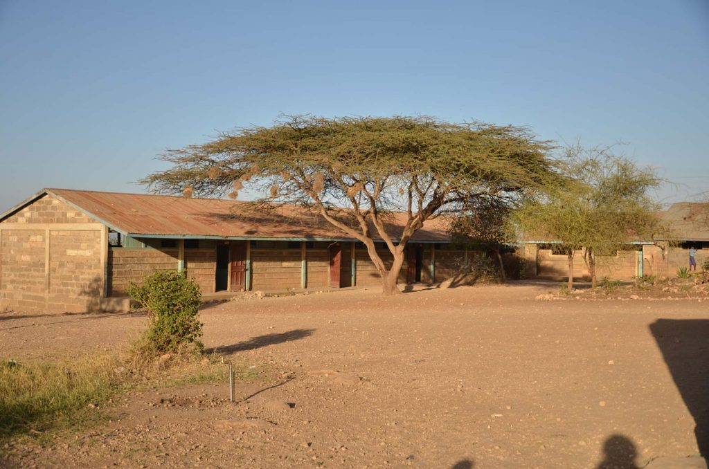 Photo of Enkijape School by Paula Kahumbu